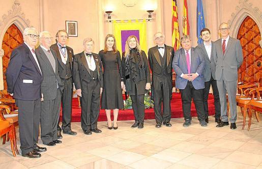 Tomeu Soberats, Joan Barceló, Pedro Riutort, Alfonso Ballesteros, Antonia Barceló, Patricia Gómez, Macià Tomàs, Biel Ferragut, Mateu Soler y Pere Soler.
