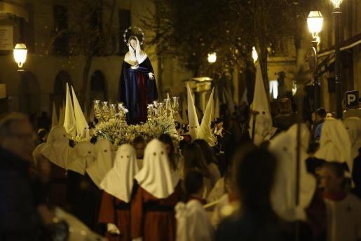 Procesión del Martes Santo en Palma.