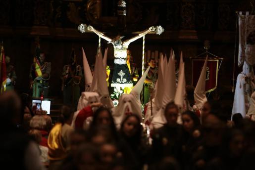 Procesión del Miércoles Santo en Palma.
