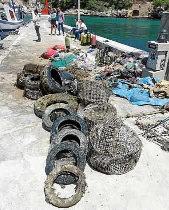 Marilles identifica la contaminación como una de las grandes presiones sobre el Mar Balear, tanto por residuos y plásticos como por vertidos de aguas mal depuradas.