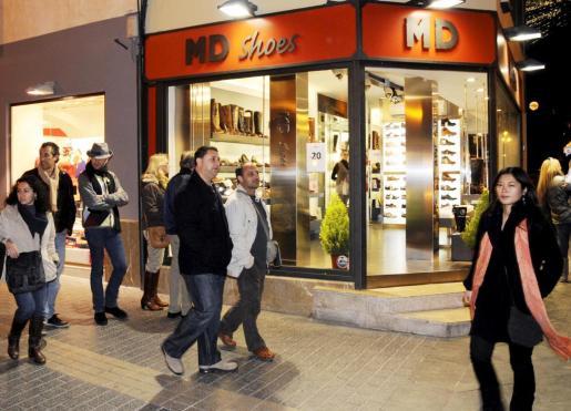 El Govern ha propuesto que los comercios del centro de Palma tengan total libertad de horarios.