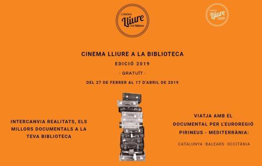 Edición 2019 del ciclo 'Cinema Lliure a la Biblioteca'.