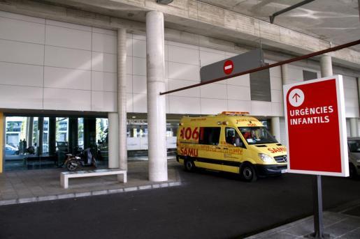 Los dos menores heridos en el accidente han sido trasladados al hospital de Son Espases, donde han quedado ingresados.