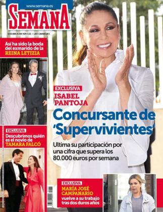 Isabel Pantoja, en la portada de 'Semana' que anuncia su participación en 'Supervivientes 2019'.