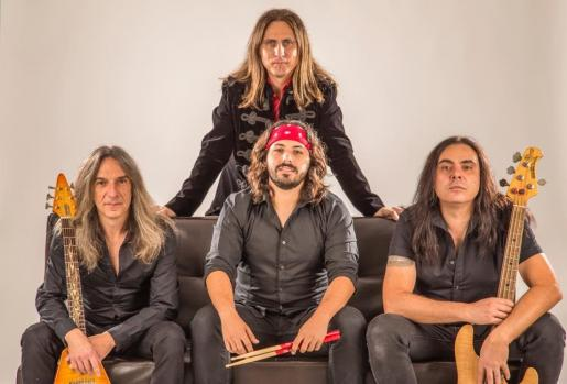 Los cuatro integrantes de la banda mallorquina Old Noise.