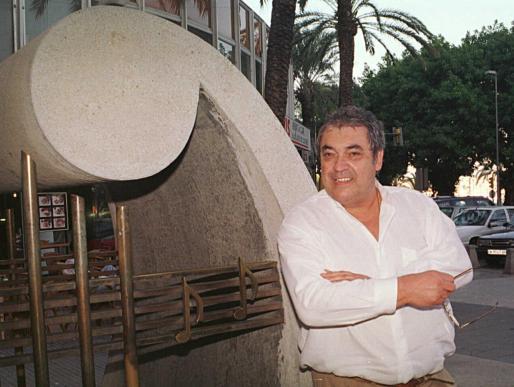 Alberto Cortez, en una de sus visitas a Palma.