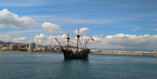 Durante su estancia en Palma, el barco abrirá sus cubiertas al público en el Club de Mar.