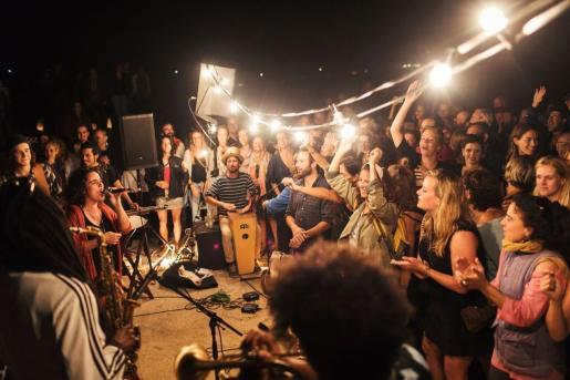 Un concierto en el IV Formentera Jazz Festival.