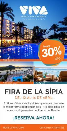 Viva Hotels ofrece una suculenta oferta para disfrutar de la Fira de la Sipia del Port d'Alcúdia.