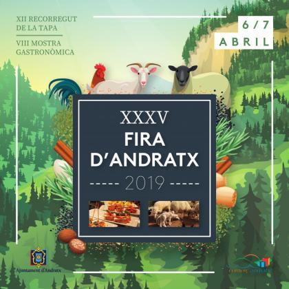 La XXXV Fira d'Andratx llena el municipio de actividades.
