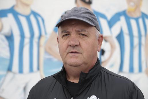 El entrenador del Atlètico Baleares, Manix Mandiola.