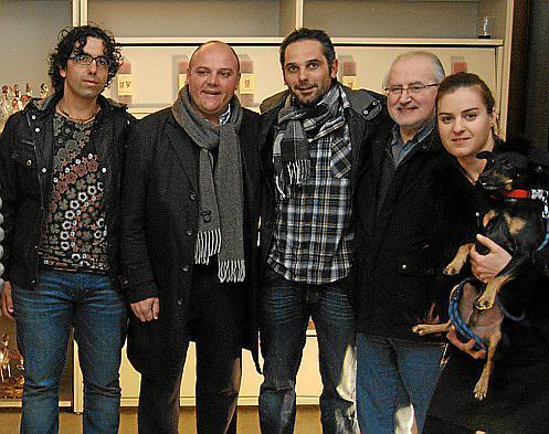 Coll Bernat, Biel Serra, Felip Caldés, Miquel Marroig y Svetla Georgieva.