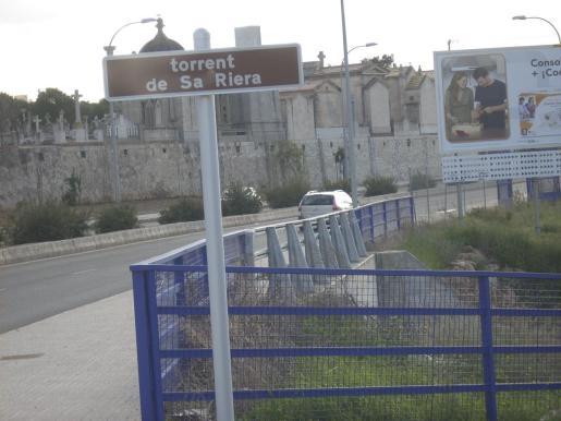 El puente del Parc de sa Riera.