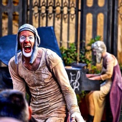 Dudú Arnalot, protagonista de la función 'Insomni'.