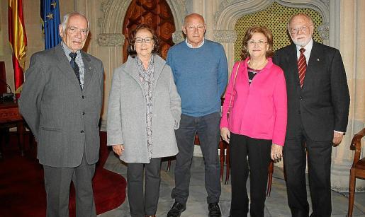 José Torralba, Mariona Valls, Perico Montaner, Victoria Palatchi y Román Piña.