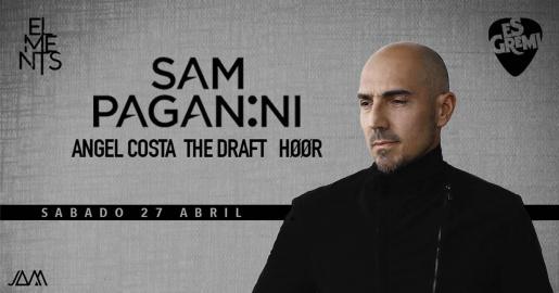 El internacional Sam Paganini estará en Es Gremi el 27 de abril.