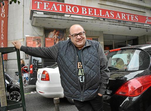 El actor Joan Carles Bestard posó en Madrid con motivo de esta entrevista.