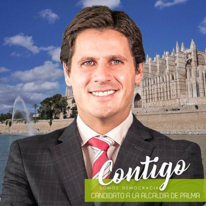 José Luis Ruiz candidato a Palma por 'Contigo Somos Democracia'.
