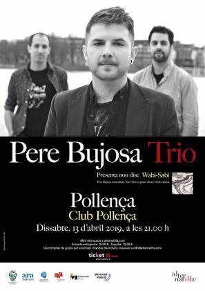 Cartel de la presentación de 'Wabi-Sabi', el nuevo trabajo de Pere Bujosa Trio