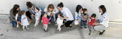 Imagen de la celebración del Día de la Madre en Palma.