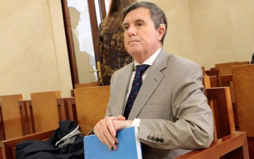 Jaume Matas, durante el juicio.