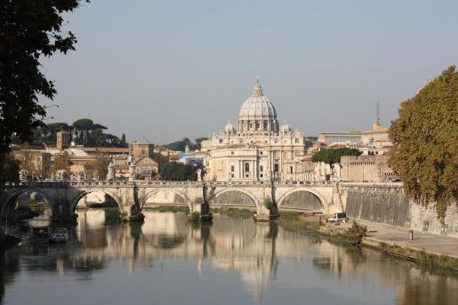Vista del Vaticano.