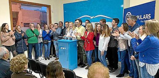 Los populares presentaron la candidatura electoral.
