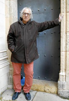 Llorenç Capellà, este miércoles en Santa Eulàlia.