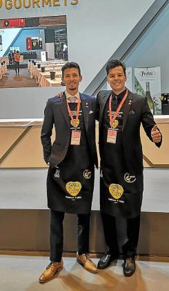 Davide Dellago (izquierda) y Gabriel Lucas.