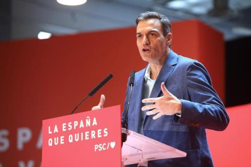 El presidente del Gobierno y candidato del PSOE en las elecciones generales, Pedro Sánchez.