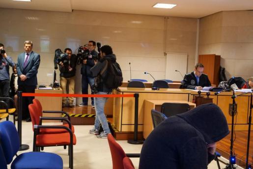 Segunda jornada en Santiago de Compostela del juicio por intento de rapto a una chica en Boiro al asesino confeso del crimen de Diana Quer, José Enrique Abuín, alias `El Chicle¿    11/04/2019, crimen    11/04/2019 11/04/2019, crimen