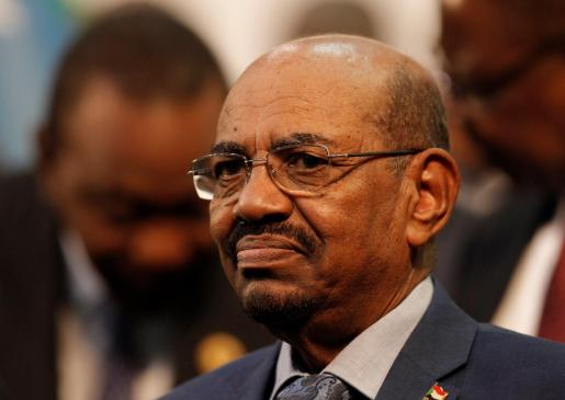El hasta ahora presidente sudanés Omar al-Bashir.