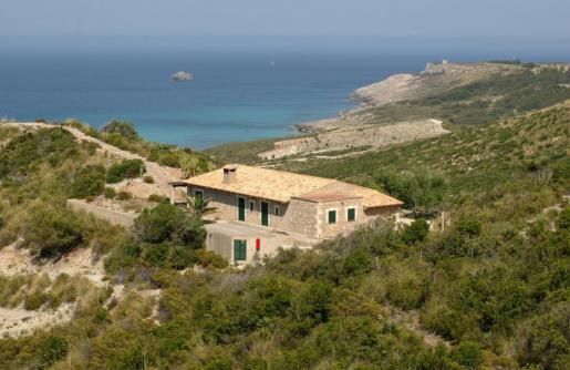 Refugio des Oguers, en el Parque Natural de Llevant.