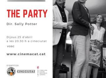 Proyección de 'The party' en CineCiutat dentro del ciclo 'Cinemacat'