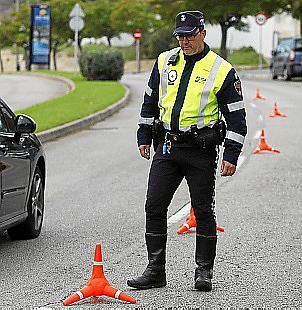 Actuó la Policía Local en el accidente.