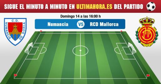 El Real Mallorca busca el triunfo en Soria para asaltar la cuarta plaza.