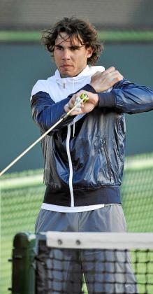 Rafa Nadal acelera su puesta a punto para irrumpir en el primer Master 1000 de la temporada.