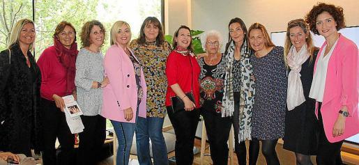 Sandra Riba, Constanza Forteza, Andrea Torrens, Sabina Pons, Antonia Artigues, Asun Sáez, Renatte Pons, Paquita Jiménez, Julia Rubí, Cristina Roncal e Irene López.