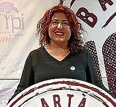 Maria Antònia Sureda, candidata del PI.
