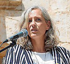 Alice Weber, candidata de Més en Inca.