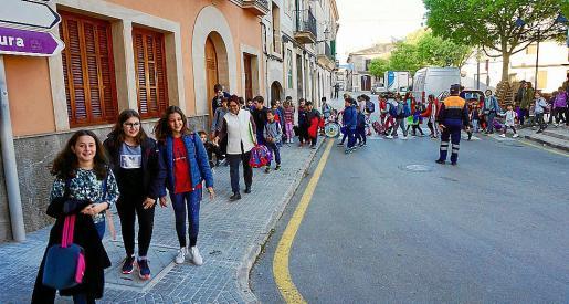 En la mañana de este lunes se iniciaron las cuatro rutas que discurren por las calles del núcleo.