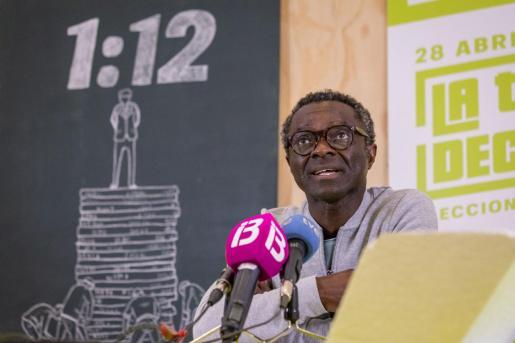 Guillem Balboa, candidato de Veus Progressistes en las elecciones generales del 28 de abril de 2019