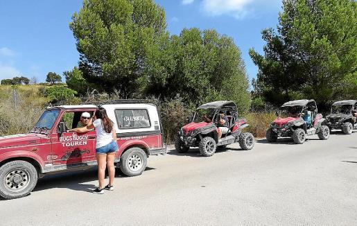 El verano pasado se registró el acceso de casi un centenar de vehículos diarios.