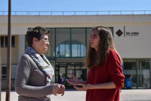 Antònia Jover y Lucía Muñoz son las candidatas de Unidas Podemos al Congreso por Baleares.