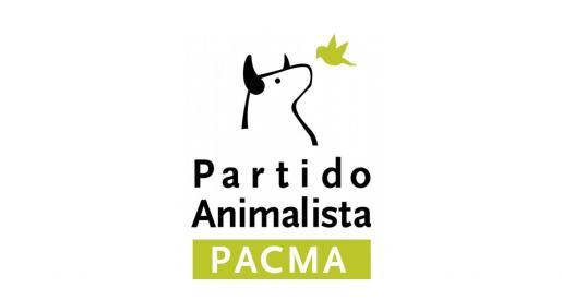 Logo del partido animalista PACMA.