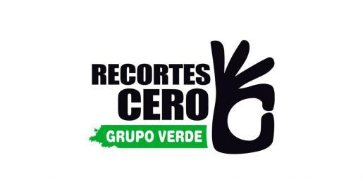 Logo de Recortes Cero-Grupo Verde.