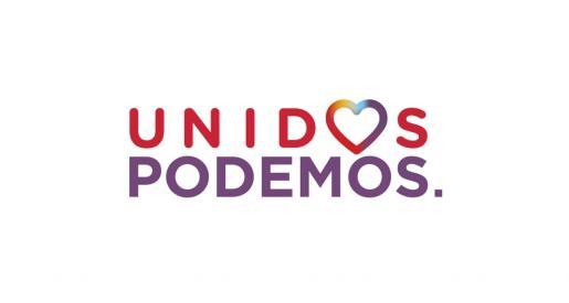 Logo de Unidas Podemos.
