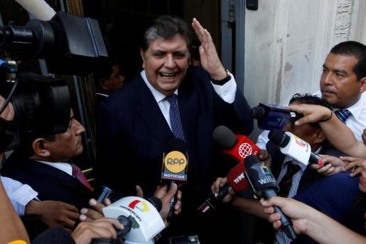 Alan Garcia, en una imagen de archivo tomada en 2017.