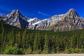 Los alpinistas escalaban el Howse Peak cuando se produjo la avalancha.