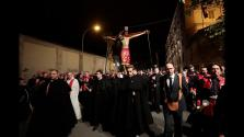 El Crist de la Sang recorre las calles de Palma